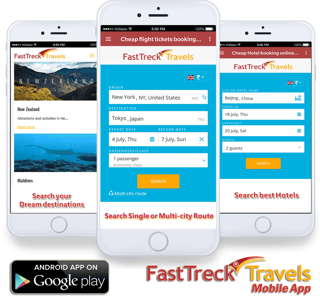 Click Here to Download FastTreck Travels Mobile App