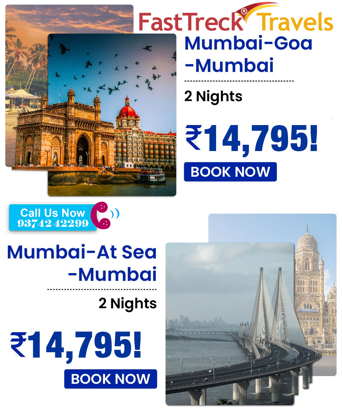 Ex Mumbai Sailing - 3 Nights Package