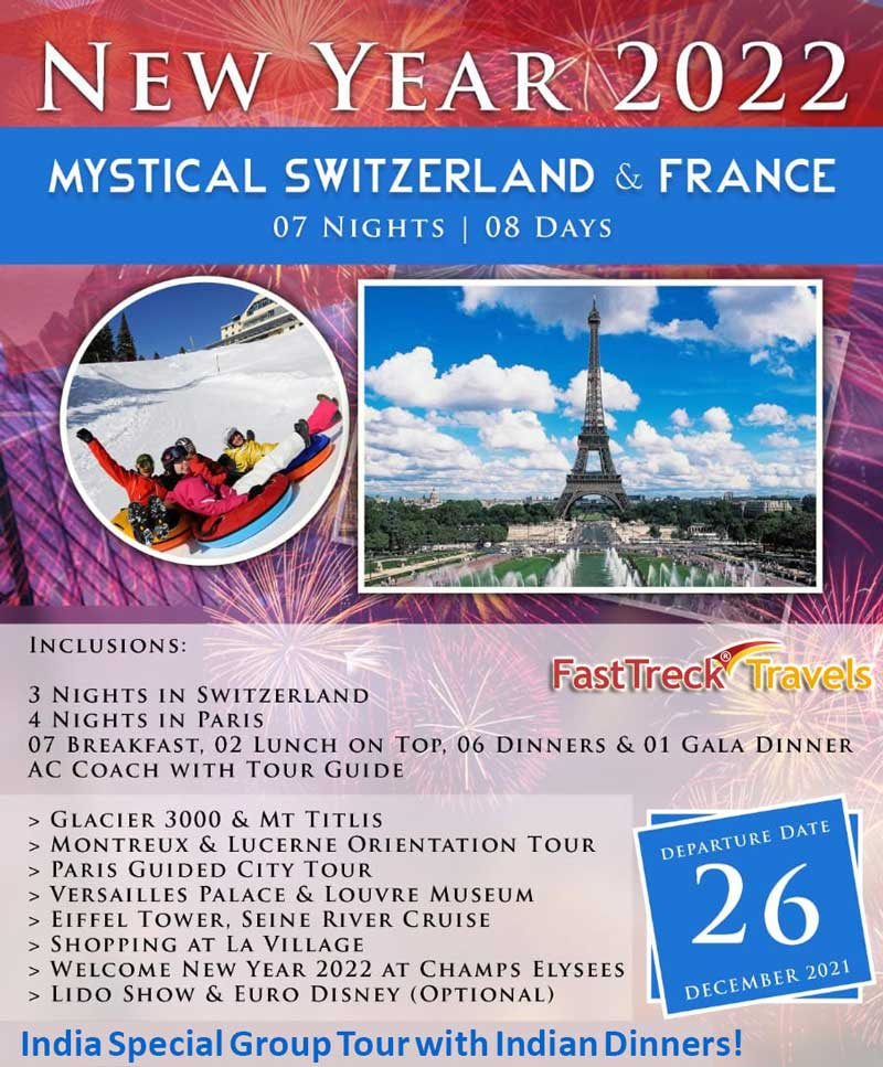 Mystical Switzerland and France New Year 2022 Tour